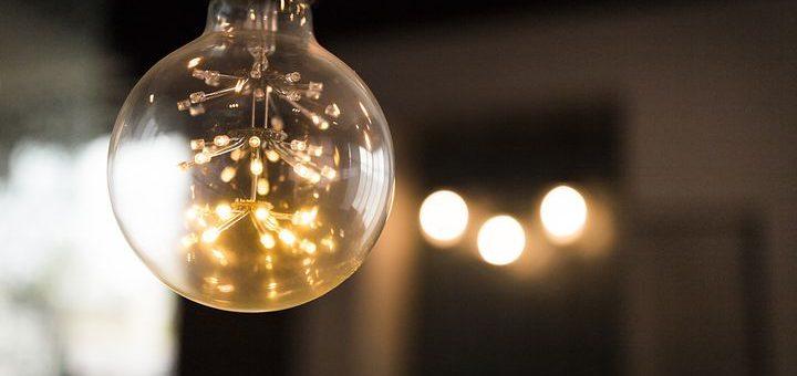 décoration avec ampoules à LED