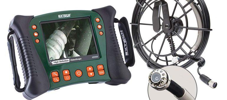 Extech HDV650-10G Kit de Vidéoscope pour plomberie